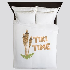 Tiki Time Queen Duvet