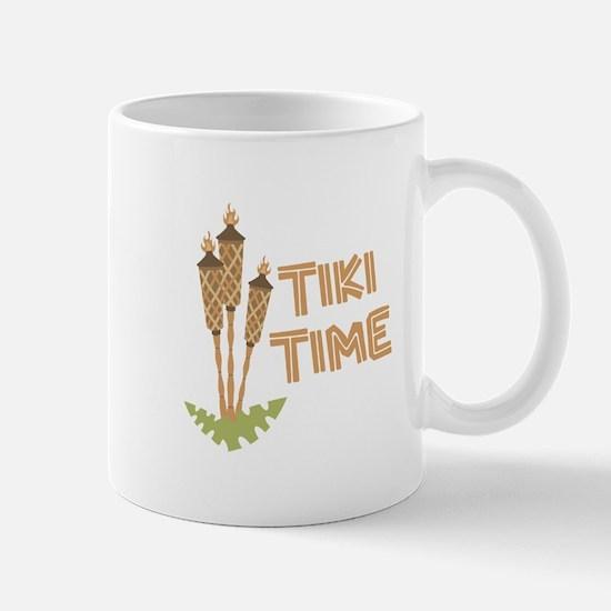 Tiki Time Mugs