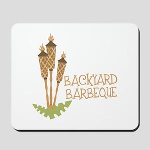 Backyard Barbeque Mousepad