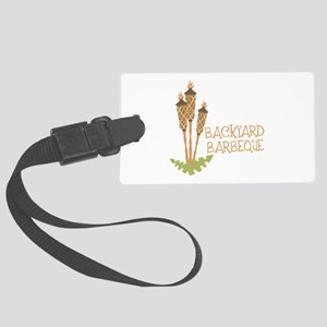 Backyard Barbeque Luggage Tag