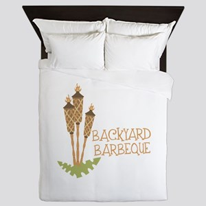 Backyard Barbeque Queen Duvet
