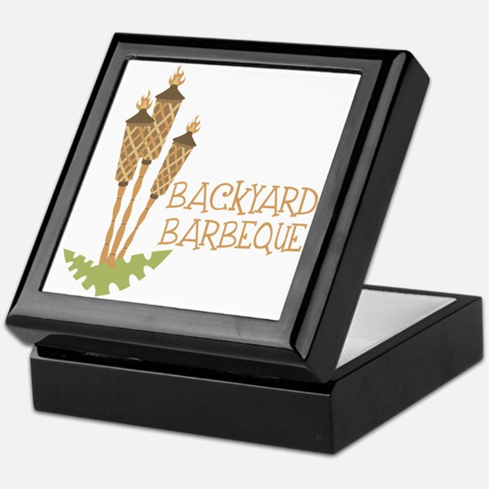 Backyard Barbeque Keepsake Box