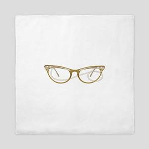 Glasses Queen Duvet