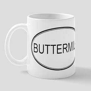 BUTTERMILK (oval) Mug