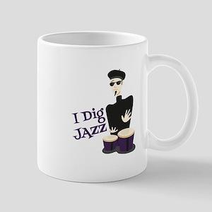 I Dig Jazz Mugs