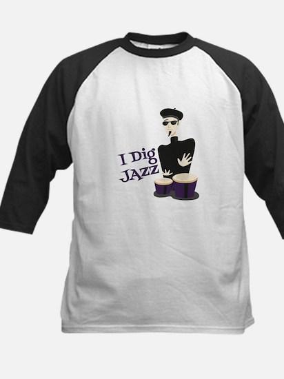 I Dig Jazz Baseball Jersey