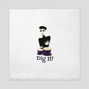 Dig It! Queen Duvet