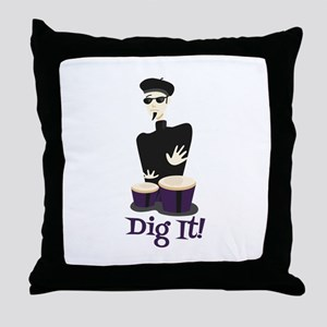 Dig It! Throw Pillow