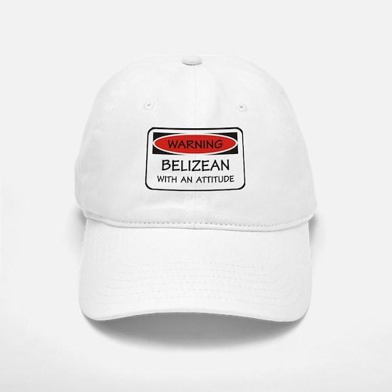 Attitude Belizean Baseball Baseball Cap