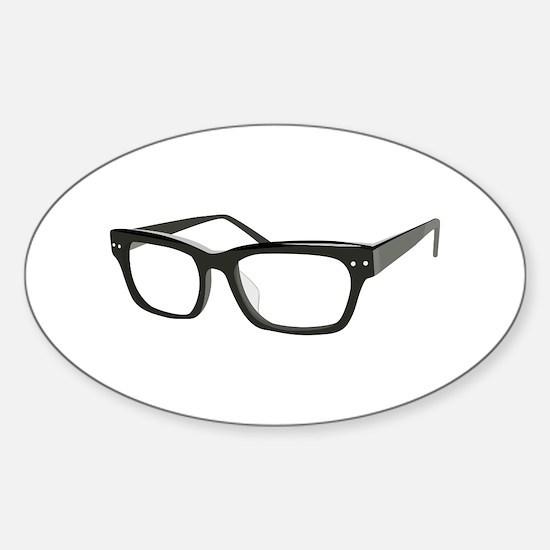 Eye Glasses Decal