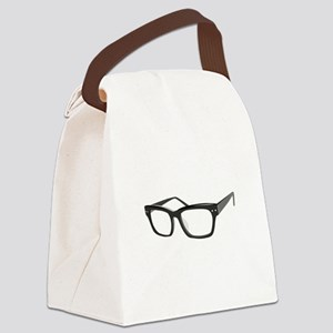 Eye Glasses Canvas Lunch Bag