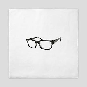 Eye Glasses Queen Duvet