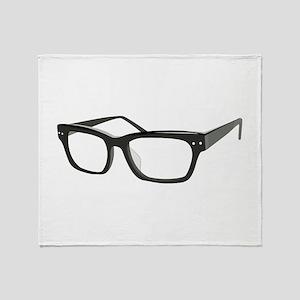 Eye Glasses Throw Blanket