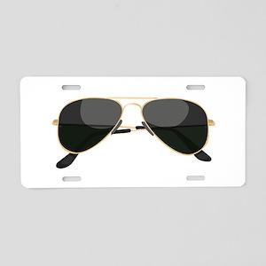 Sun Glasses Aluminum License Plate