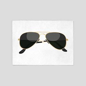 Sun Glasses 5'x7'Area Rug