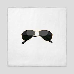 Sun Glasses Queen Duvet