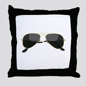 Sun Glasses Throw Pillow