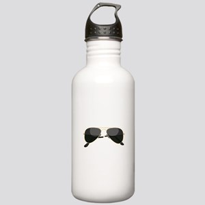 Sun Glasses Water Bottle