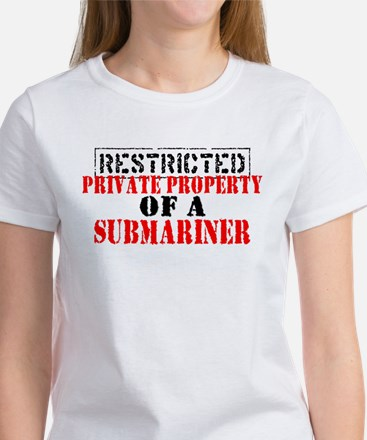 RESTRICTED Private Prop of a Women's T-Shirt