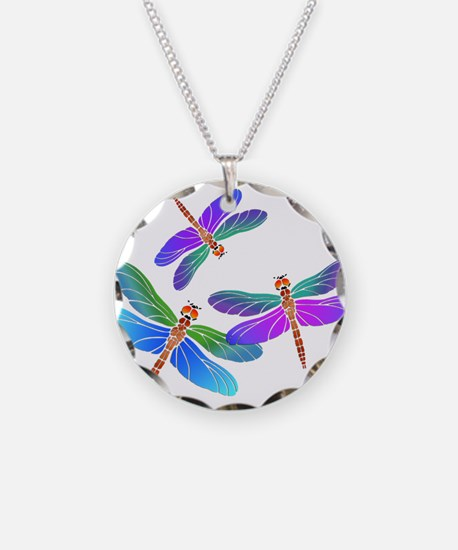 Unique Dragonflies Necklace
