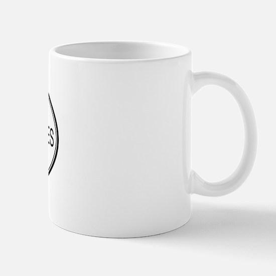 BURGER AND FRIES (oval) Mug