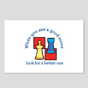 Good Move Better Postcards (Package of 8)