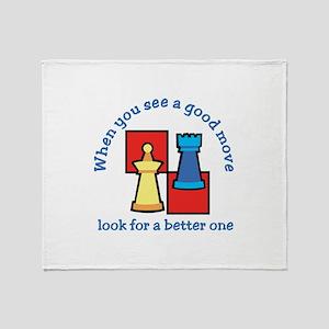 Good Move Better Throw Blanket