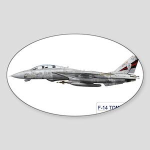 VF-154 Black Knights Oval Sticker
