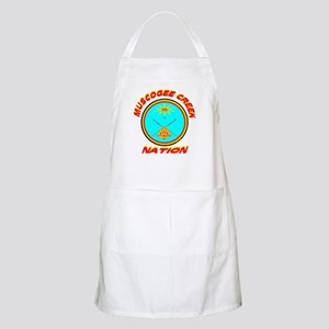 MUSCOGEE CREEK NATION BBQ Apron