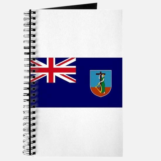 Flag Montserrat Journal