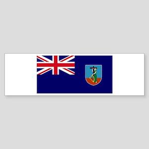 Flag Montserrat Bumper Sticker