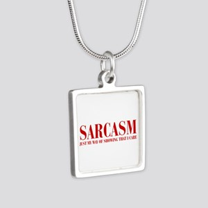 SARCASM-JUST-MY-WAY-BOD-RED Necklaces