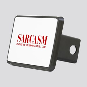 SARCASM-JUST-MY-WAY-BOD-RED Hitch Cover
