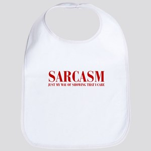 SARCASM-JUST-MY-WAY-BOD-RED Bib