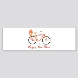 Enjoy The Ride Bumper Sticker