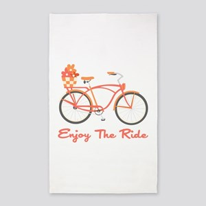 Enjoy The Ride 3'x5' Area Rug