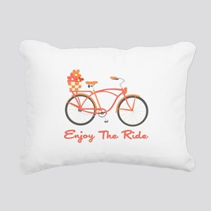 Enjoy The Ride Rectangular Canvas Pillow