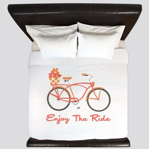 Enjoy The Ride King Duvet
