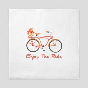 Enjoy The Ride Queen Duvet