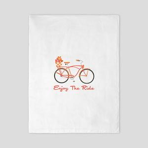 Enjoy The Ride Twin Duvet