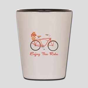 Enjoy The Ride Shot Glass