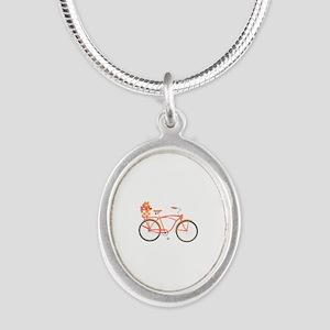 Pink Cruiser Bike Necklaces