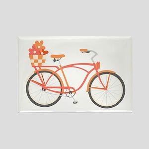 Pink Cruiser Bike Magnets
