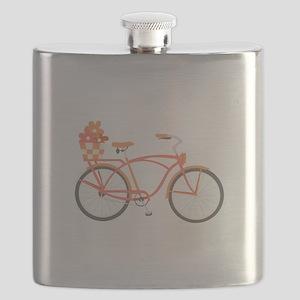 Pink Cruiser Bike Flask