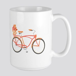 Pink Cruiser Bike Mugs