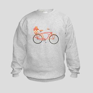 Pink Cruiser Bike Sweatshirt
