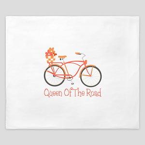 Queen Of The Road King Duvet