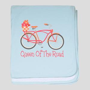 Queen Of The Road baby blanket