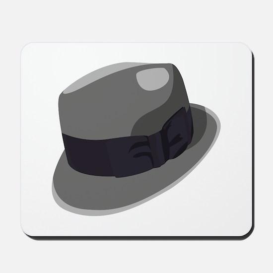 Mans Hat Mousepad