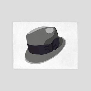Mans Hat 5'x7'Area Rug